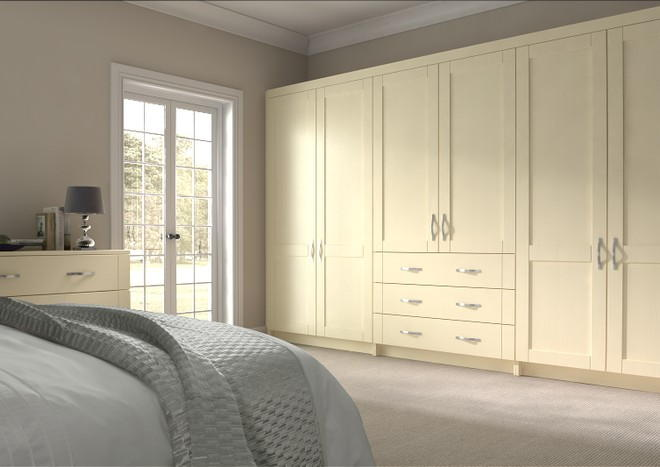 Washington Cream Ash Bedroom Doors
