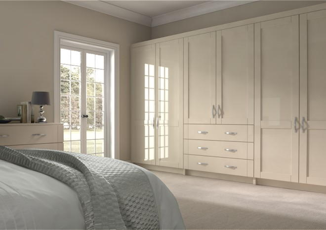 Washington High Gloss Cappuccino Bedroom Doors