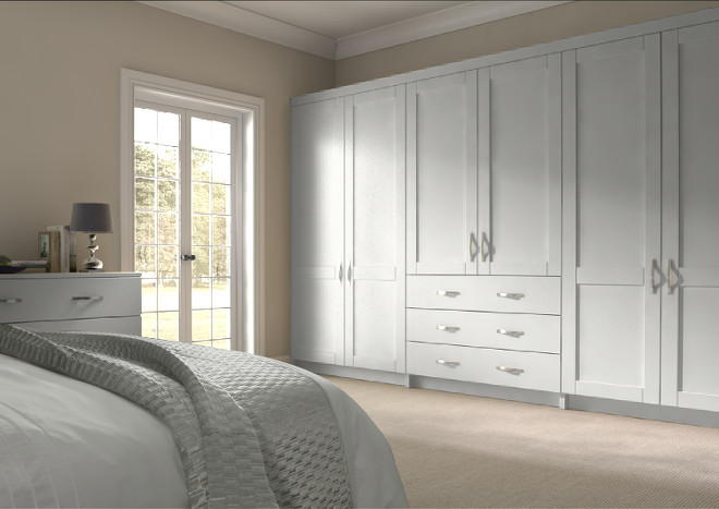Washington Light Grey Bedroom Doors