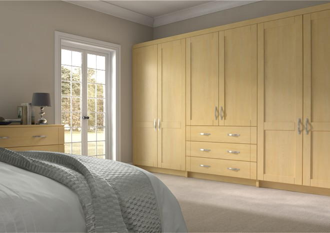 Washington Montana Oak Bedroom Doors