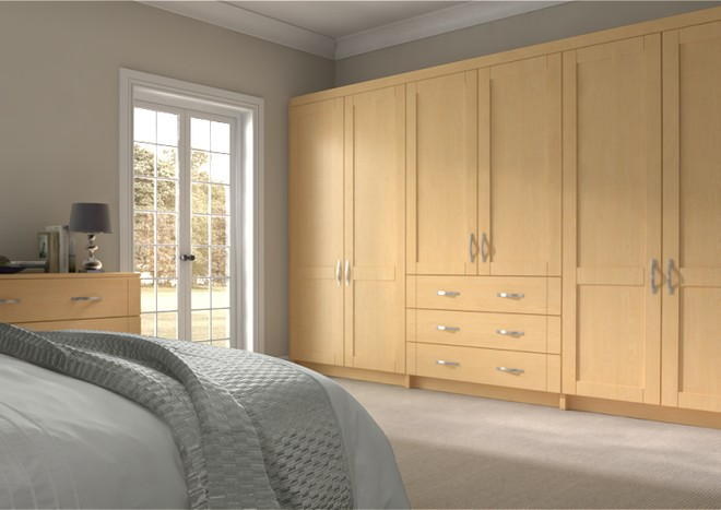 Washington Ontario Maple Bedroom Doors