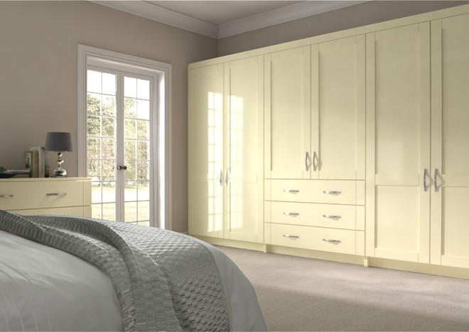 Washington Vanilla Bedroom Doors