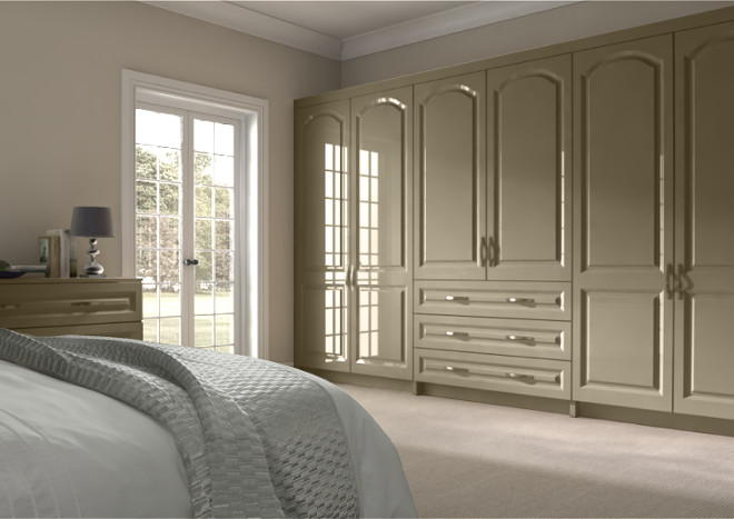 Westfield High Gloss Dakar Bedroom Doors