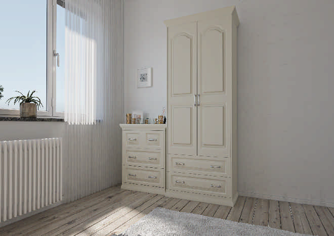 Westfield TrueMatt Alabaster Bedroom Doors