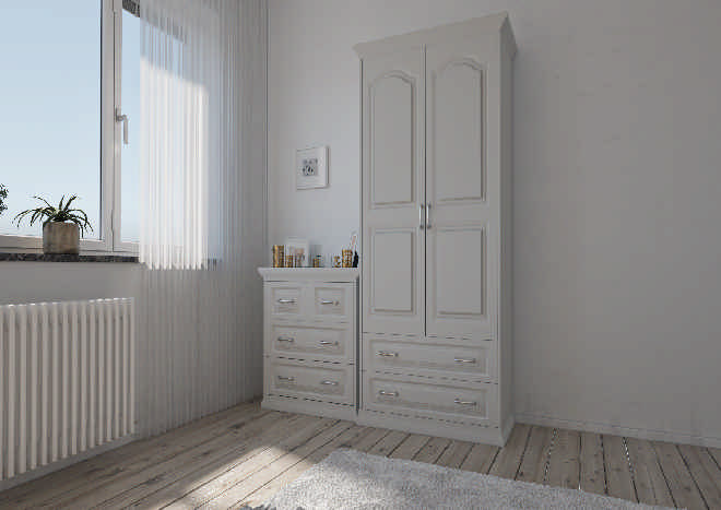Westfield TrueMatt Light Grey Bedroom Doors