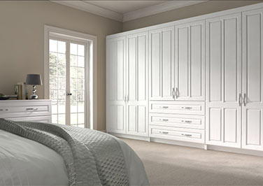 Amberley Avola White Bedroom Doors
