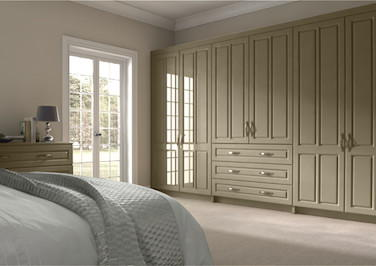 Amberley High Gloss Dakar Bedroom Doors
