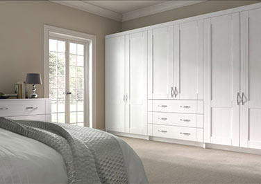 Arlington Avola White Bedroom Doors