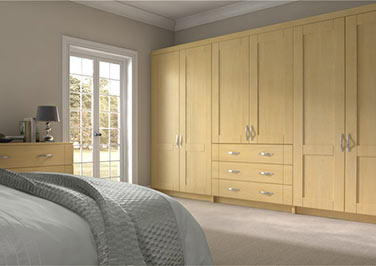 Arlington Montana Oak Bedroom Doors