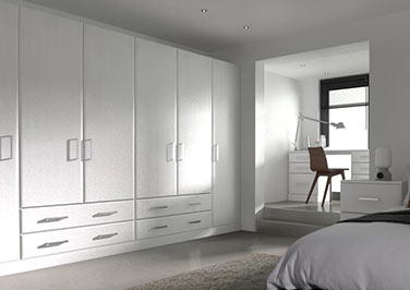 Brighton Avola White Bedroom Doors