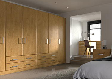 Brighton Pippy Oak Bedroom Doors