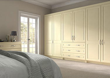Chichester Cream Bedroom Doors