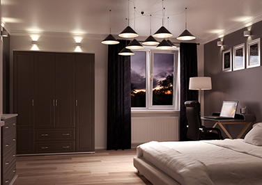 Chichester Graphite Bedroom Doors