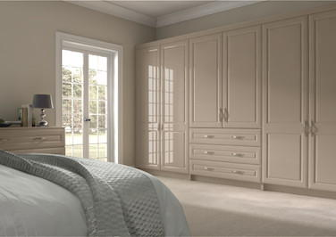 Chichester High Gloss Cashmere Bedroom Doors