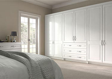 Chichester Paintable Vinyl Bedroom Doors