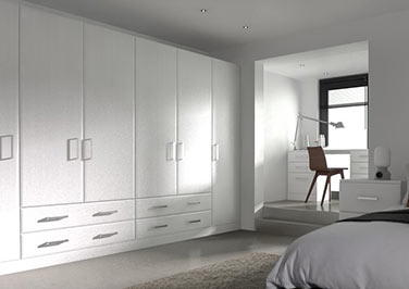 Durrington Avola White Bedroom Doors