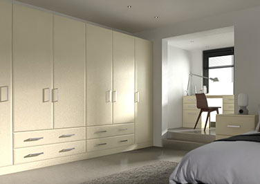 Durrington Cream Ash Bedroom Doors