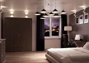 Durrington Graphite Bedroom Doors