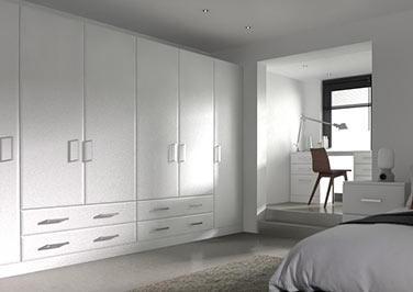 Durrington Super White Ash Bedroom Doors