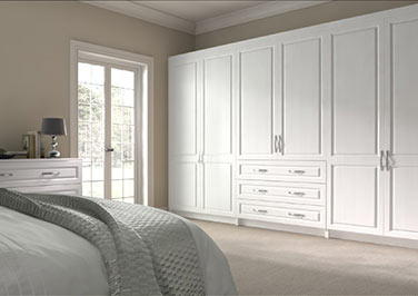 Fontwell Avola White Bedroom Doors