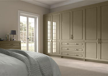 Fontwell High Gloss Dakar Bedroom Doors