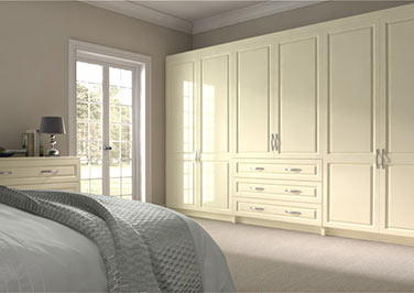 Fontwell Ivory Bedroom Doors