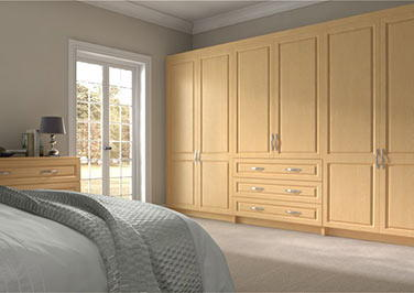 Fontwell Ontario Maple Bedroom Doors