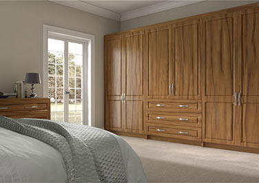 Fontwell Tiepolo Light Walnut Bedroom Doors