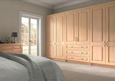 Goodwood Beech Bedroom Doors