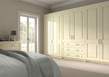 Goodwood Legno Ivory Bedroom Doors