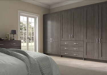 Kingston Avola Grey Bedroom Doors
