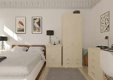 Kingston Ivory Bedroom Doors