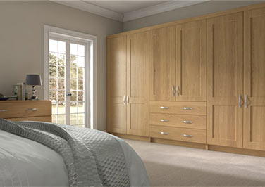 Kingston Lissa Oak Bedroom Doors