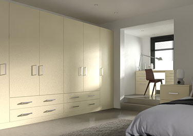 Lewes Cream Bedroom Doors