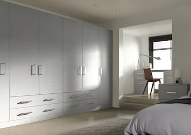 Lewes Light Grey Bedroom Doors