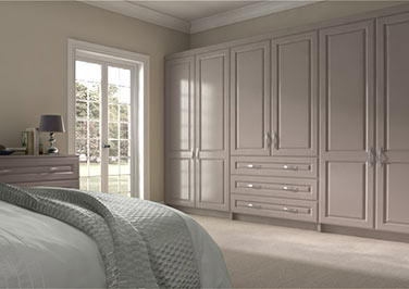 Midhurst Legno Stone Grey Bedroom Doors