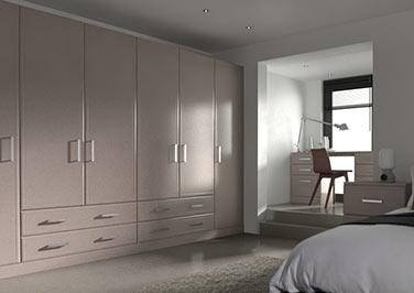 Newick Legno Stone Grey Bedroom Doors
