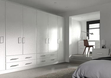 Newick Legno White Bedroom Doors