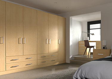 Newick Ontario Maple Bedroom Doors