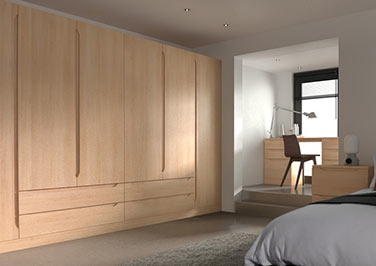 Petworth Beech Bedroom Doors