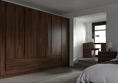 Petworth Dark Walnut Bedroom Doors
