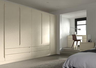 Petworth Legno Mussel Bedroom Doors