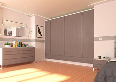 Petworth Legno Nordic Bedroom Doors