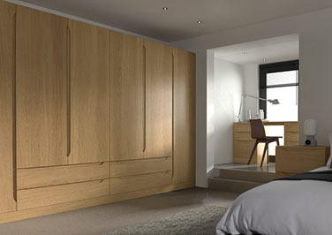 Petworth Lissa Oak Bedroom Doors