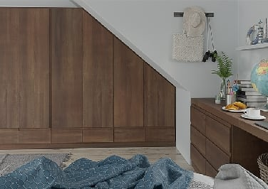 Ringmer Medium Walnut Bedroom Doors