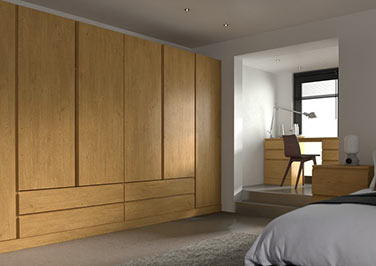 Ringmer Pippy Oak Bedroom Doors
