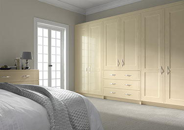 Singleton Cream Ash Bedroom Doors