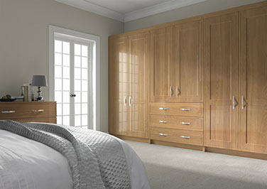 Singleton Lissa Oak Bedroom Doors