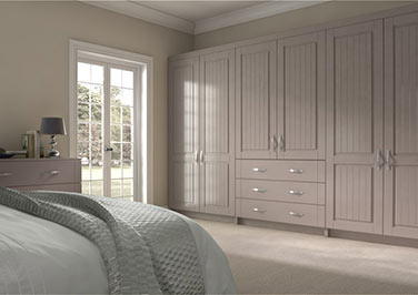 Storrington Legno Stone Grey Bedroom Doors