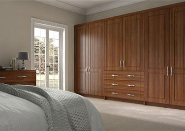 Storrington Medium Walnut Bedroom Doors
